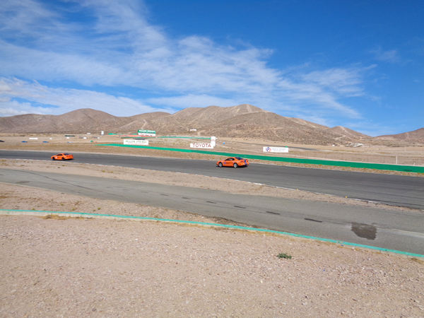 Two cars on the track picture